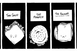 Five Saddest Sandwiches Ever by Katrin Dohse